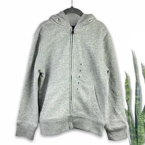 Children's Place | Grey Zip Up French Terry Hoodie